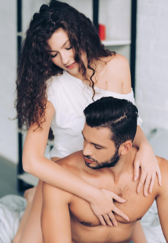 Mann und Frau beim Pegging